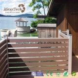 Recinzione composita di plastica del legno decorativa del giardino WPC