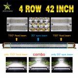 Ce RoHS 12V 24 V 42 pouces à 4 rangs étanche 4X4 barre lumineuse à LED Offroad
