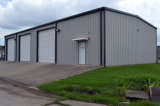 El bastidor de Gable almacén de estructura de acero con revestimiento en color blanco, gris
