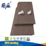 Прочное внешнее водоустойчивое деревянное пластичное составное плакирование стены