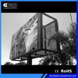 P9.875mm 높은 정의 풀 컬러 옥외 발광 다이오드 표시 스크린