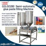 Halbautomatische doppelte Kopf-Pasten-Füllmaschine für Stau-Soße (G2LGD280)