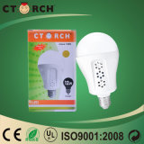 Surtidor de Ctorch China 3 horas de trabajo de 9W LED de bulbo recargable durable de la emergencia