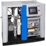 Ölfreier schraubenartiger Kompressor der Luftkühlung-Oilless mit VFD/VSD/Converter