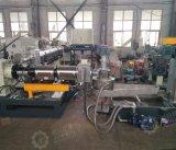 Pp.-PET-ABS-EVA-Haustier, das Granulation-Maschine mit zweistufigem Extruder aufbereitet