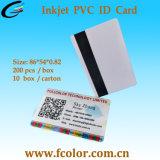 12mm de largura de trabalho de cartões de tarja magnética normal com a impressora de jacto de tinta
