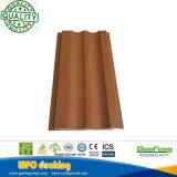 Plancher extérieur décoratif imperméable à l'eau du stratifié WPC de décoration avec le prix usine