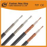 Cable coaxial de cobre descubierto del cable Rg8 de la alta calidad