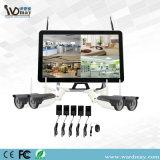 Ecrã LCD grande de 22 polegadas com sistema NVR 4CH câmaras IP