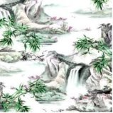 Chinesische Art-Silk Schal für Dame