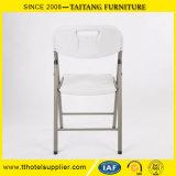 Présidence en plastique extérieure de meubles pliables Wedding la présidence de pliage commode avec le Tableau