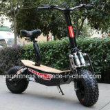 Potente Motociclo eléctrico verde com 01- 60V 2000watt Motor sem escovas