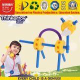 Giocattolo educativo di puzzle facile di plastica per l'asilo
