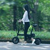 Roue de 12 pouces de haute qualité Mini vélo électrique pliable