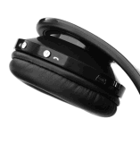 Auscultadores sem fio da Sobre-Orelha de Bluetooth do controle portátil baixo profundo do toque com o Mic interno para o telemóvel