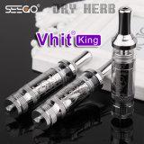Le Roi Dry Herb Vape Cartridge de Vhit de nettoyage d'individu de Seego avec le double système de Fltration