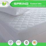 中国の製造者のホーム寝具のテリーの綿100%の防水マットレスの保護装置によって合われるシート