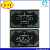 Nome do Cartão VIP gravado de metal do cartão de identidade de negócios