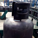 Ligne de fabrication de corps d'équipements industriels de cylindre de gaz de LPG machine de soudure de main/boucle de butoir