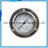 工場卸売ステンレス鋼の圧力計の冷凍