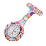 2017 Großverkauf-Förderung-Silikon-Krankenschwester-Uhr