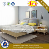 Мебель с одной спальней тип старинной европейской цельной древесины двойная кровать (HX-8NR0667)