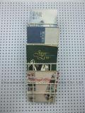 Самомоднейшая минималист стойка газеты вися стены 4 полок решетки металла записывает стеллаж для выставки товаров кассет