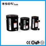 Cylindre hydraulique temporaire de double de 500 tonnes