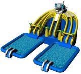 Tema animal novo estilo de jogo o Parque Aquático móveis insufláveis