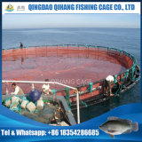 海洋のHightの品質のHDPEの栽培漁業のケージ