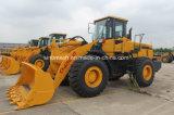 Carregador da roda da tonelada Gz957z da maquinaria de construção 220HP de Sinomach 5 para a venda