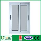 Porte coulissante et guichet en aluminium