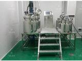 Высокая эффективная косметическая гомогенизируя машина, смеситель вакуума сливк тела, лаборатория подгоняла делая эмульсию машину