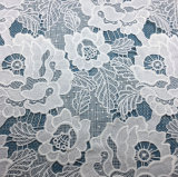 Migliore tessuto del merletto della guipure del tessuto del merletto del fiore di Yarm del latte di prezzi per le donne