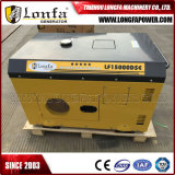 générateur diesel silencieux superbe refroidi à l'air de double cylindre de 10kw 15kVA