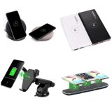 2 Universal High-End Qi bobina dupla Fast Carregador Sem Fio para iPhone x 8 Plus Samsung S8 Edge S7 Telefone móvel