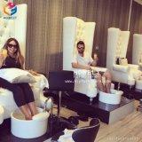 Cadeira luxuosa dos TERMAS da cadeira de Pedicure da massagem do banco de Pedicure da mobília do salão de beleza do prego