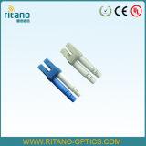 Разъем оптического волокна симплекса 3.0mm LC/Upc Sm с зажимами