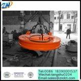 MW5-240L/2の鋼鉄スクラップを扱うための円形の高温電気持ち上がる磁石
