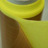 Ruban adhésif enduit en verre de fibre de résistance thermique de PTFE