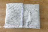 Ácaro anti acolchado poliester usado hogar del polvo del colchón de la fibra de bambú impermeable del protector
