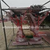 Гидравлическое складывание трактора 8 дисков сено грабли 9ld-5.5