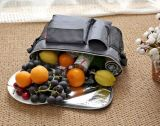Hielo de aluminio de la película de 8L Oxford del paño de la comida campestre del bolso de la preservación de múltiples funciones caliente del calor/un bolso más fresco del almuerzo del bolso para al aire libre