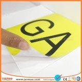 PVC promocionales personalizados auto adhesivo de vinilo