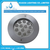 Indicatore luminoso subacqueo sotterraneo messo della lampada LED Inground dell'acciaio inossidabile di DC24V 304