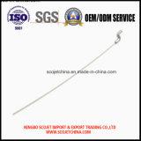 Cable de control de alta precisión de OEM con resorte y el extremo doblado