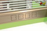 Het fijne Ontwerp van het Werkstation van de Kwaliteit Houten met de Transparante Verdeling van het Glas