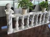 Balustre en pierre beige personnalisé pour la décoration