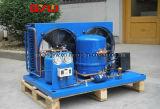 La refrigeración de almacenamiento en frío de la unidad de condensación.