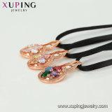 44365 de eenvoudige 18K Goud Geplateerde Halsband van de Keten van Juwelen zonder Steen
